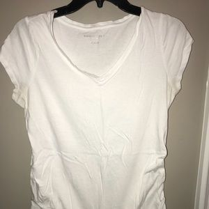 Maternity White Tee Shirt